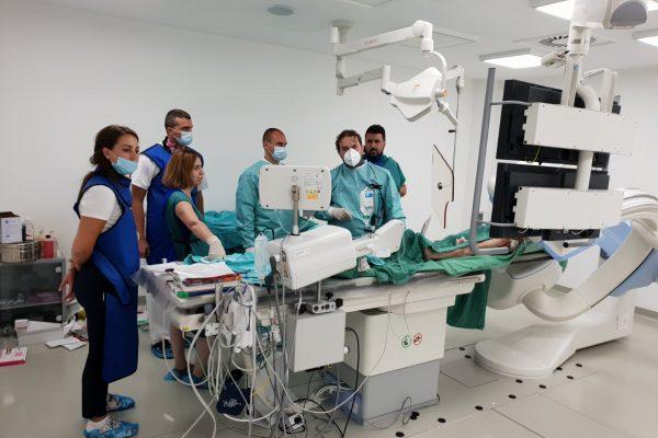 Nastavak edukacije interventnih kardiologa, radioloških tehničara i medicinskih sestara / tehničara u novootvorenoj i savremeno opremljenoj angio-sali